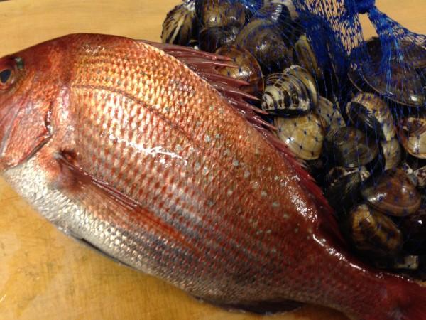 ひな祭り鯛蛤